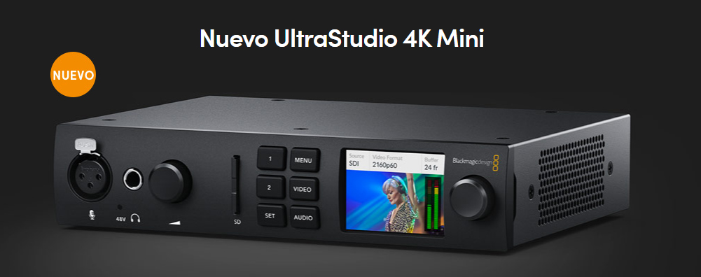 Blackmagic UltraStudio Mini 4K